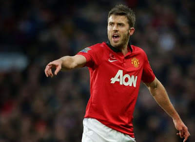 Michael Carrick Manchester United Midfielder 2013