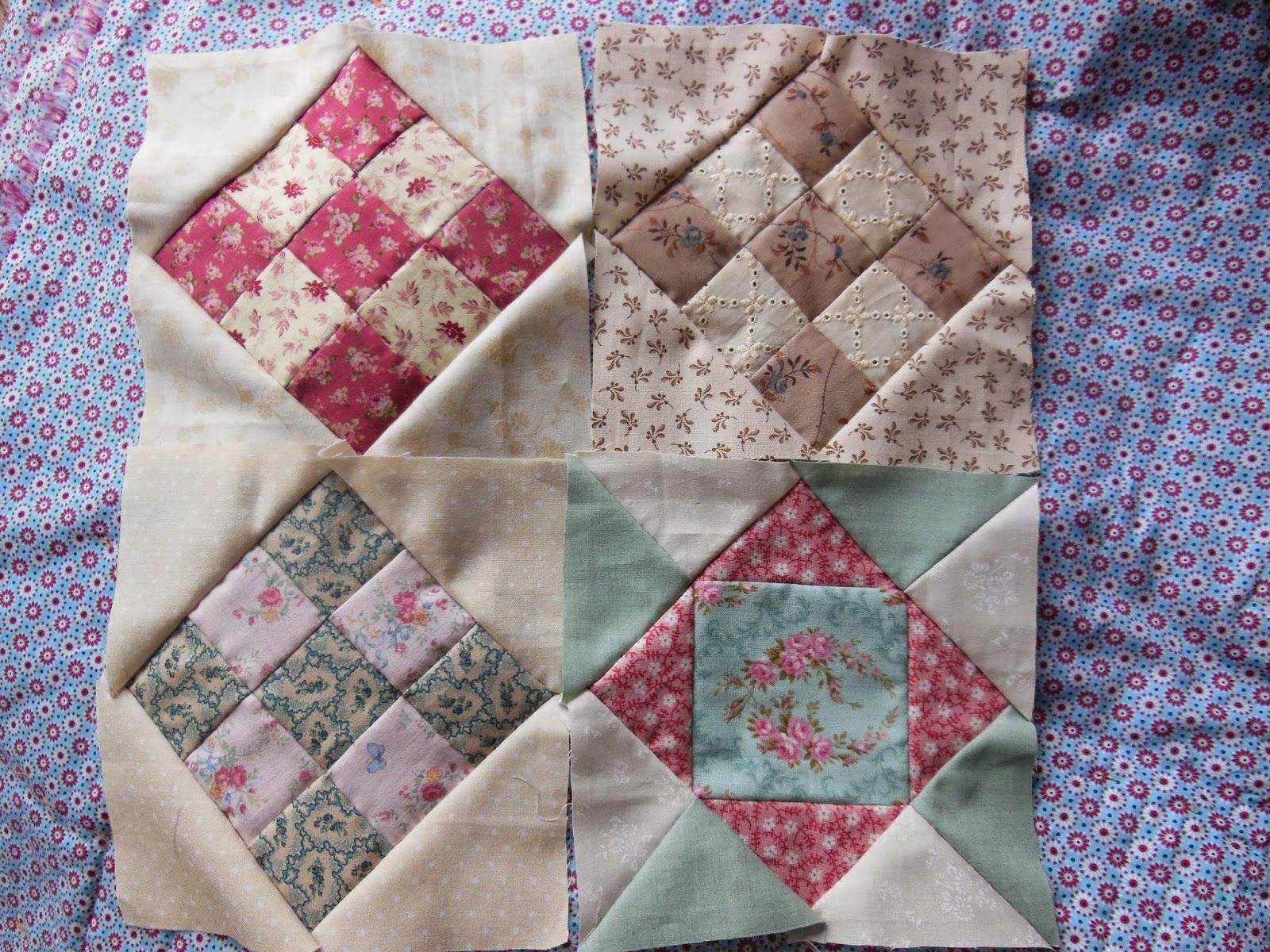 Quiltlia de stonefield en een snelle techniek - Quilts gele ...
