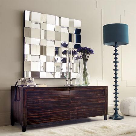 ideal para la entrada de una casa living o la pared de un comedor los lugares para poner este espejo son infinito este espacio me parece sobrio y