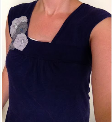 Refashioned T-Shirt to Tank Top