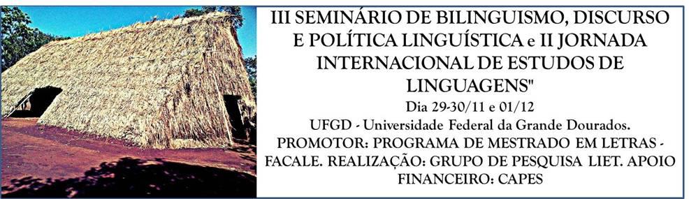 III Seminário Bilinguismo