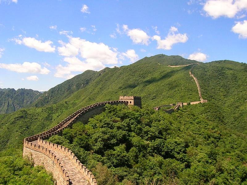 Photo de la Grande Muraille de Chine à Mutianyu