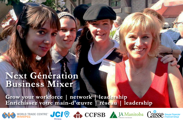 Youth Business Mixer ~ Jci winnipeg next génération business mixer
