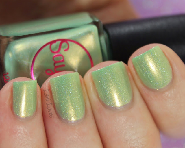 Sayuri Nail Lacquer - Minty Morsels nail polish swatches & review