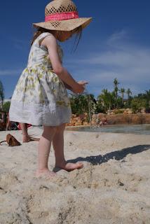 Beach at Zoomarine