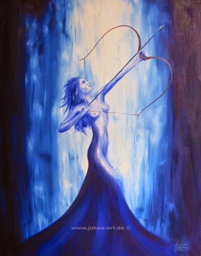 Diana, Artemida, boginja lova, čuvarica mjesečeva hrama, moj unutarnji nemir.