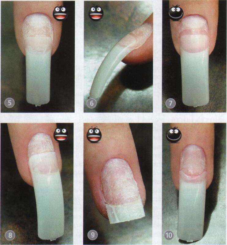 Наращивание ногтей на типсы в домашних условиях инструкция