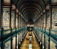 """The Trinity College Library . Dublin, Irlanda"""