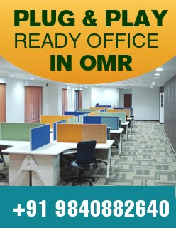 Plug & Play Ready office space in OMR, Chennai