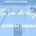 Vos articles préférés - Septembre 2015