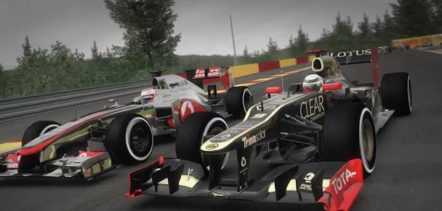 3D Formula Yarışı Oyunu
