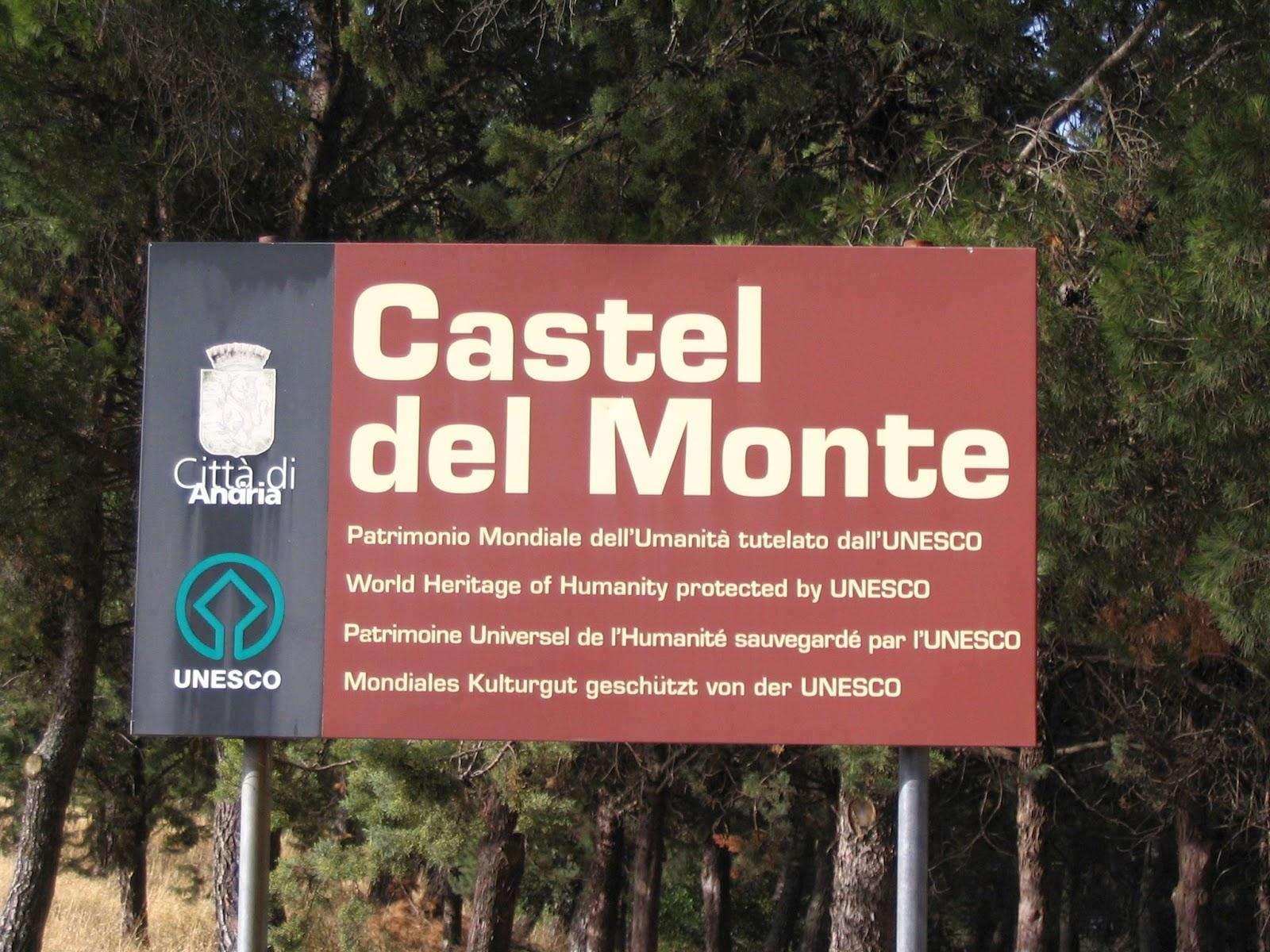 замок в италии кастель дель монте