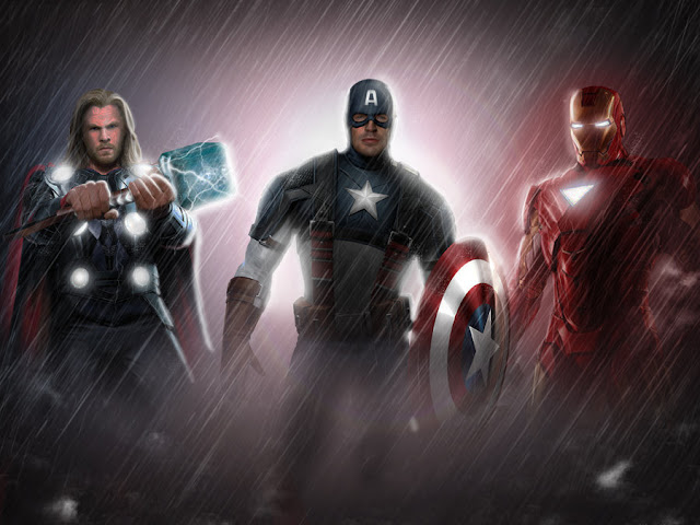 The Avengers por commando-kev