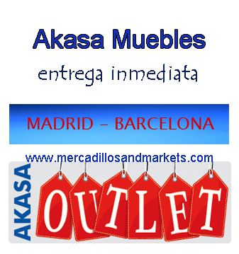 Mercadillos and markets outlet akasa for Mercadillo muebles madrid