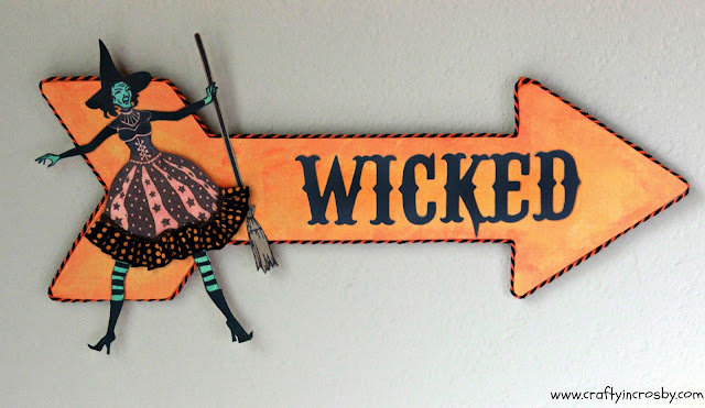 Inkadinkado Stamps, witch, witch stamp, Wicked,