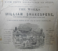 advertisement for Shakespeare's plays