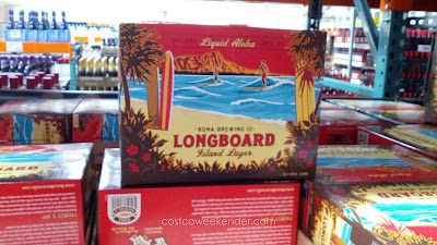 Try a taste of Hawaii with Kona Longboard Island Lager Beer