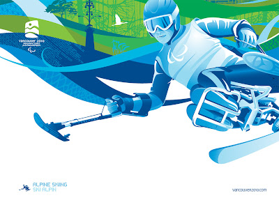 Free Vancouver 2010 Olympic Winter Games PowerPoint Background 31