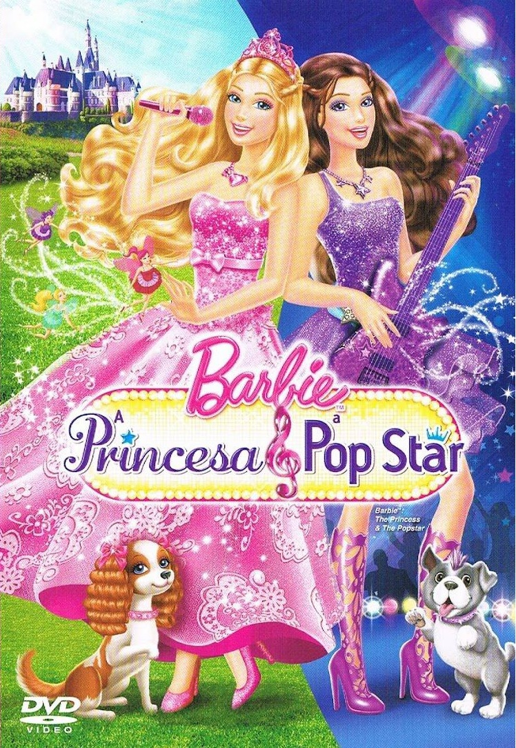 Barbie a Princesa e a Pop Star – Dublado (2012)