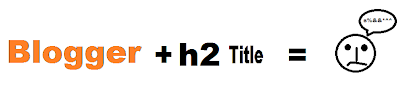Blog Post title h2 or h3