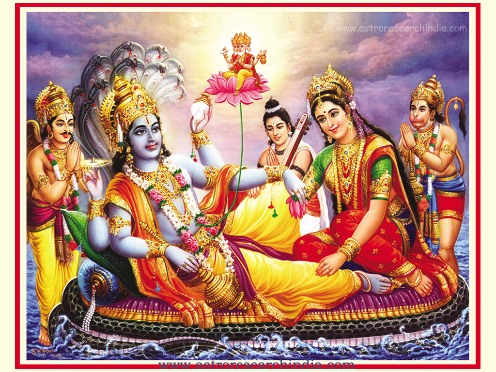 Wallpaper for HD: Lord Vishnu Laxmi Wallpaper| Lord Vishnu | Lord