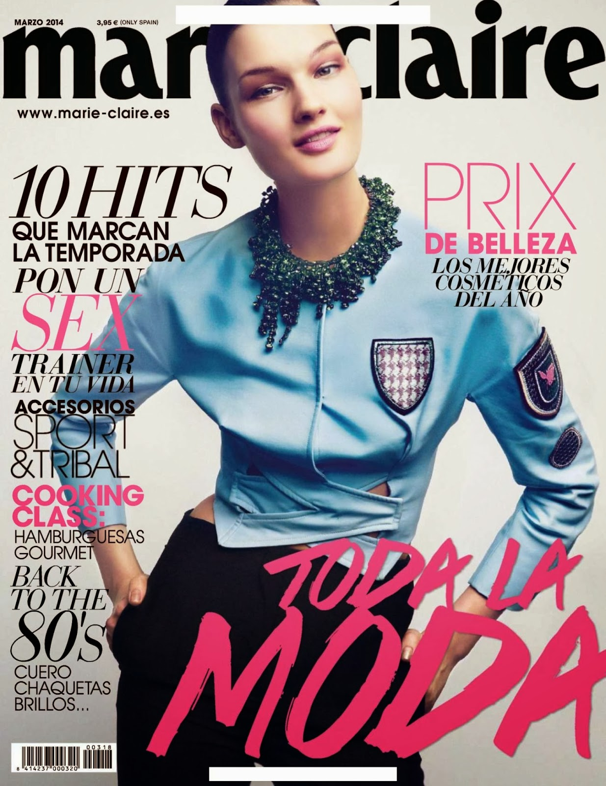 Kirsi Pyrhonen HQ Pictures Marie Claire Spain Magazine Photoshoot March 2014