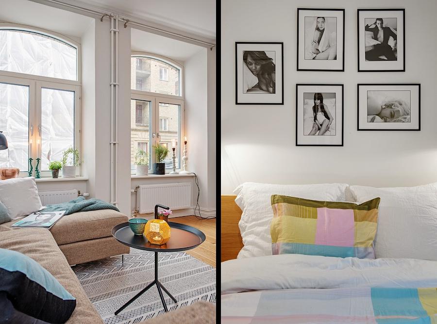 Un precioso apartamento en tonos suaves