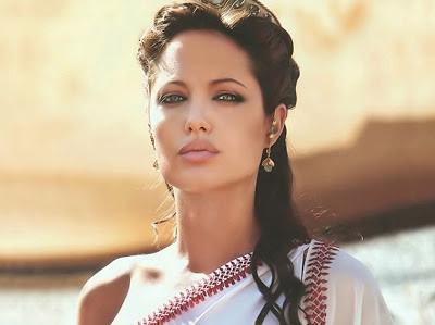 Unseen Angelina Jolie Image