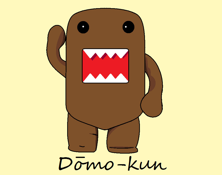 nailart-tutorials: Domo Kun