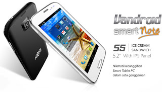 Advan Vandroid S5 bulan april 2013