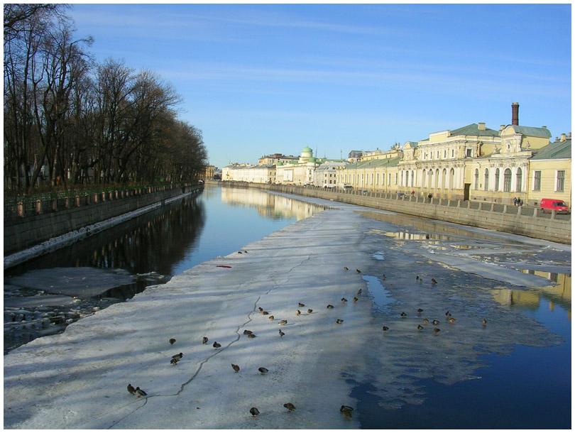 Санкт-Петербург Фонтанка