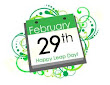 It's Leap Day