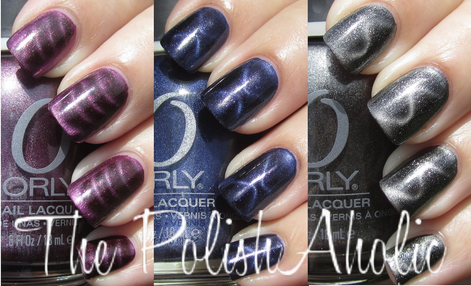The PolishAholic: Orly Magnetic FX Collection Swatches