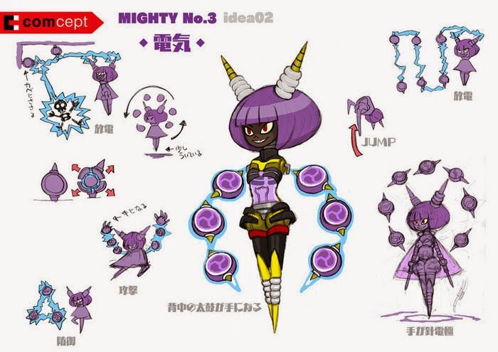 Mighty no. 9 boss no. 3