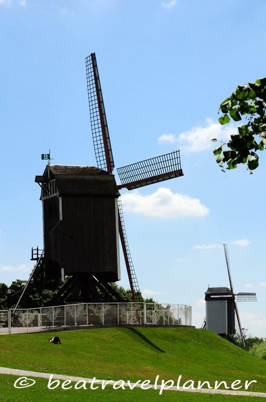 Bruges - Mulini a vento