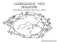 Mewarnai Binatang Ciptaan Allah