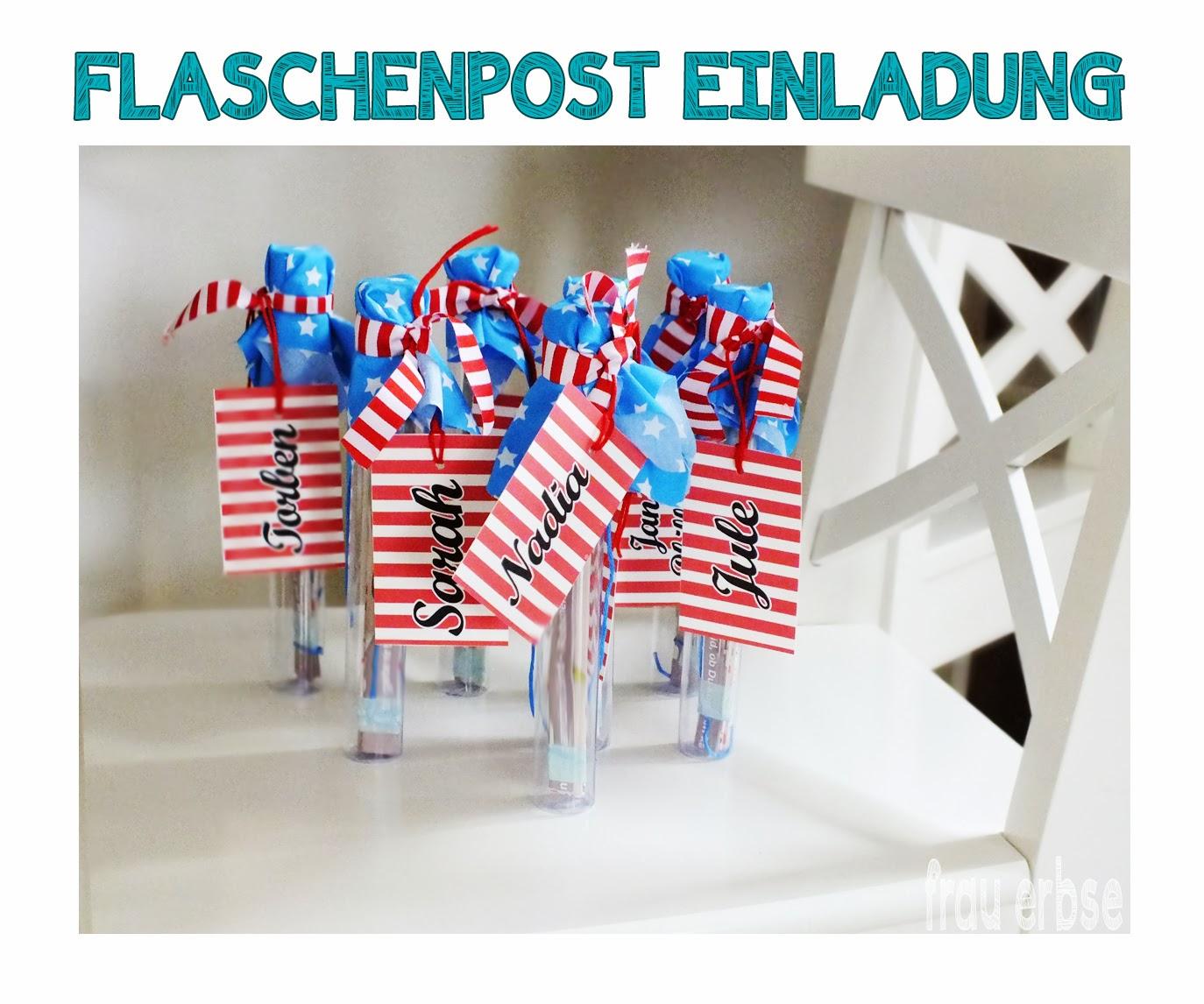 Piratenparty & Flaschenpost