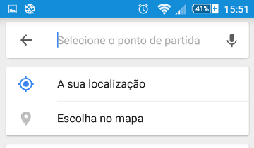 selecionar mapa no google maps