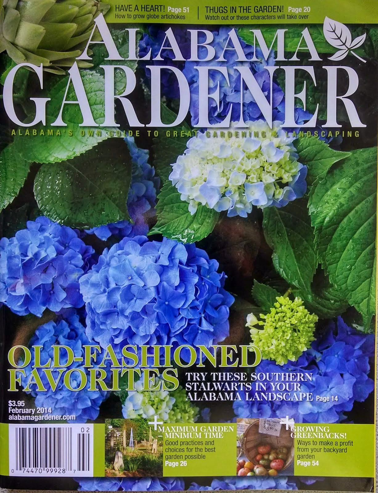 Featured in Alabama Gardener Magazine!