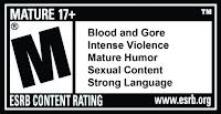 Deadpool's ESRB Rating