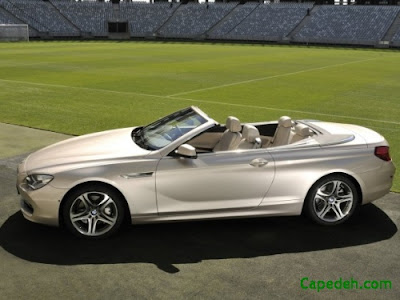 BMW 6-Series Convertible 2012