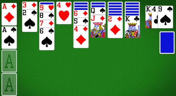 solitaire card game for windows 10 vegas