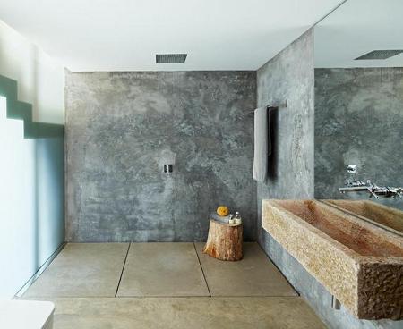 os dejo con ideas muy originales para dar un toque especial a los baos lavabos de piedra muebles a medida revestimientos de madera