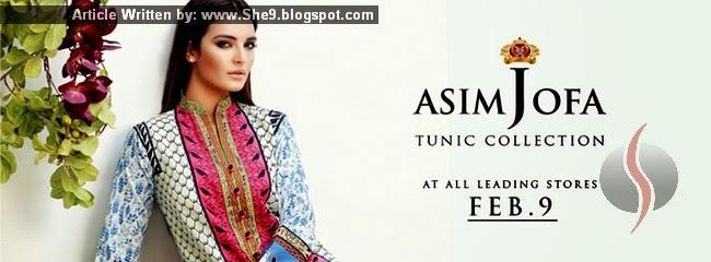 Asim Jofa Tunic 2015 Catalog/Images