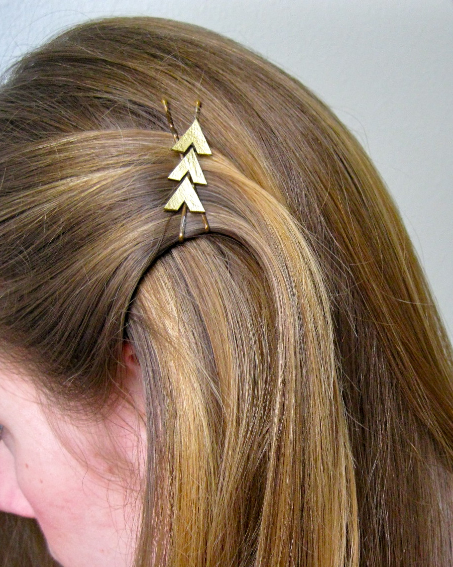 Art For All Hunger Games Katniss Inspired Hair Clip
