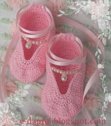 Kız Bebek Patiği Örneği