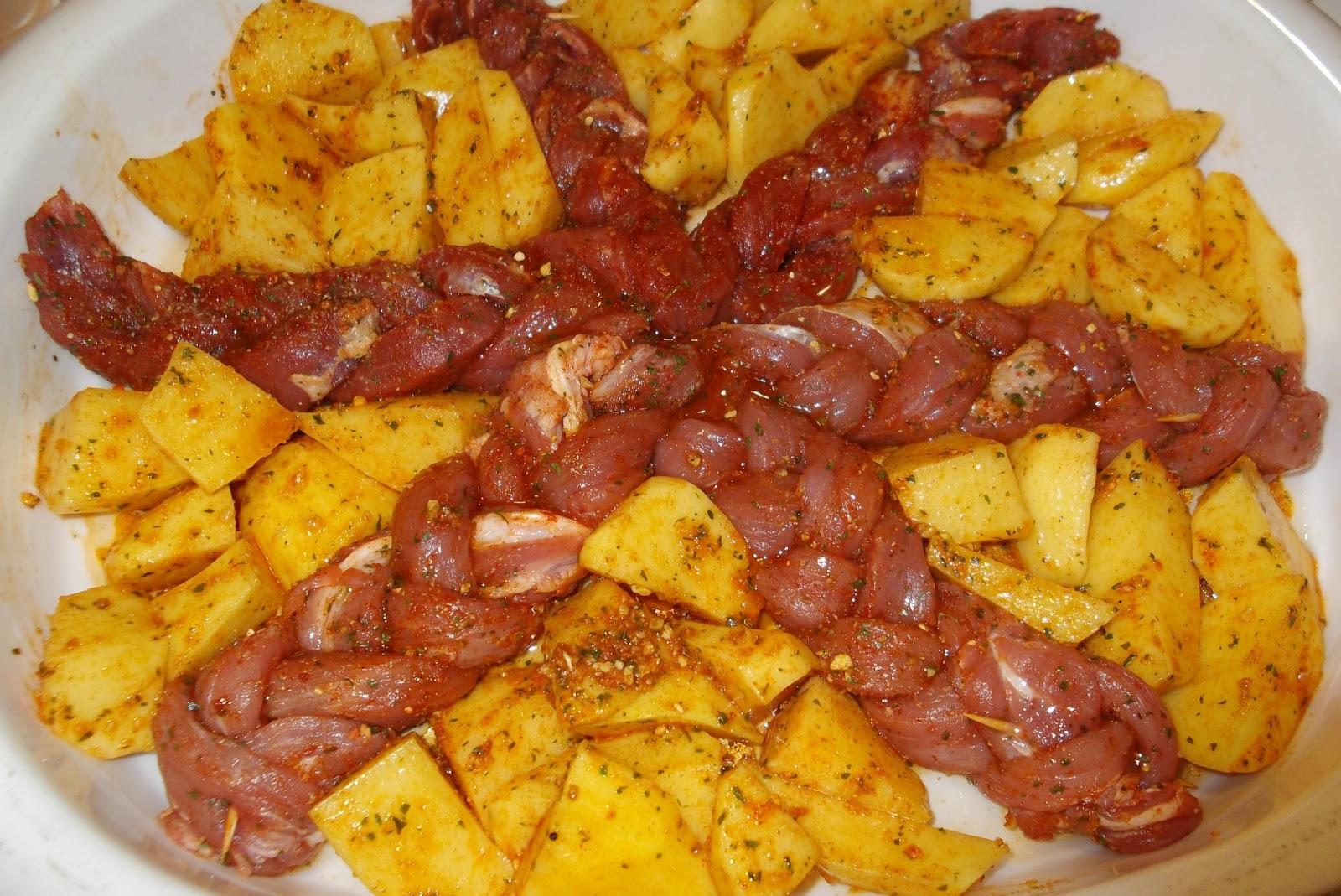 Cocinar y hablar de todo trenzas de solomillo con patatas for Cocinar con 5 ingredientes