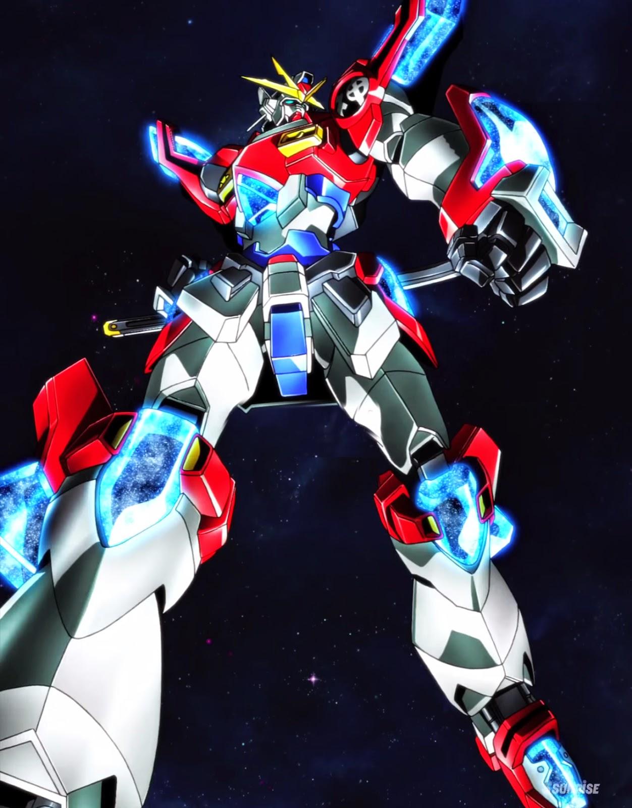 Gundam build fighters try panorama vertical wallpaper for Domon gundam build fighters try