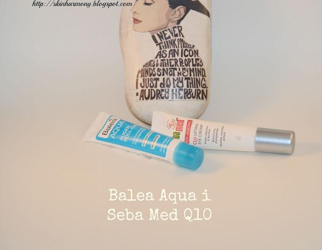 balea, seba med, aqua, eyes, okoloočna, q10, Q 10