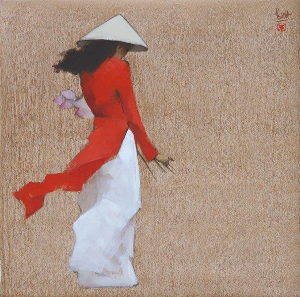 Nguyen Thanh Binh 1954 | Vietnamese Figurative painter